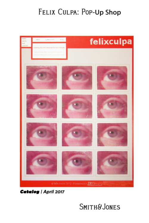 Felix Culpa Pop Up Shop (Cover - Front)