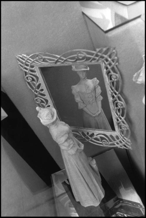 White Mirror Woman Doll
